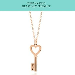 30 off tiffany co jewelry authentic tiffany co 18kt key jewelry authentic tiffany co 18kt key pendant necklace audiocablefo light Images